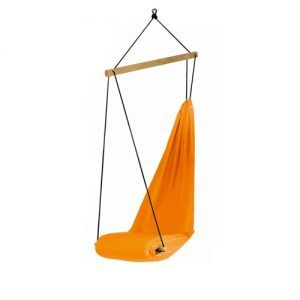 Air-Chair Luxury | Orange hanging chair
