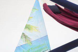 Promotional Banner Tropical Hangout
