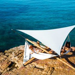 Triangle sunshade XL
